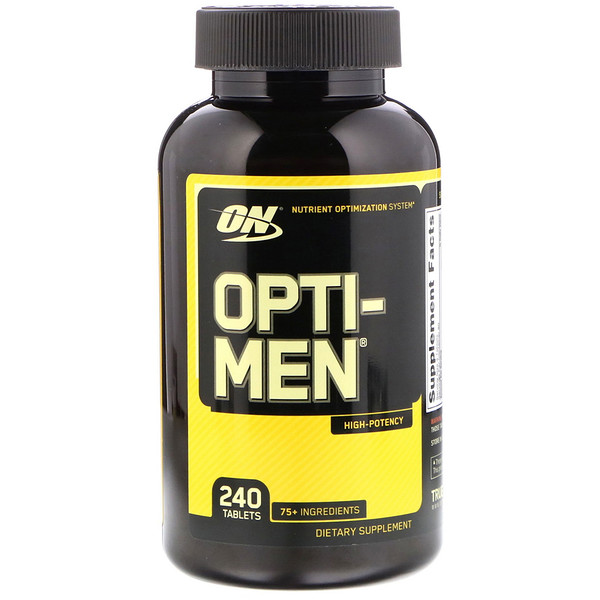 Optimum Nutrition, Opti-Men, 240 片