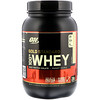 Optimum Nutrition, Gold Standard 全乳清蛋白,蛋糕炸面圈味,2 磅(907 克)