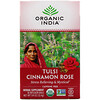 Organic India, Tulsi Tea, Cinnamon Rose, Caffeine-Free, 18 Infusion Bags, 1.14 oz (32.4 g)
