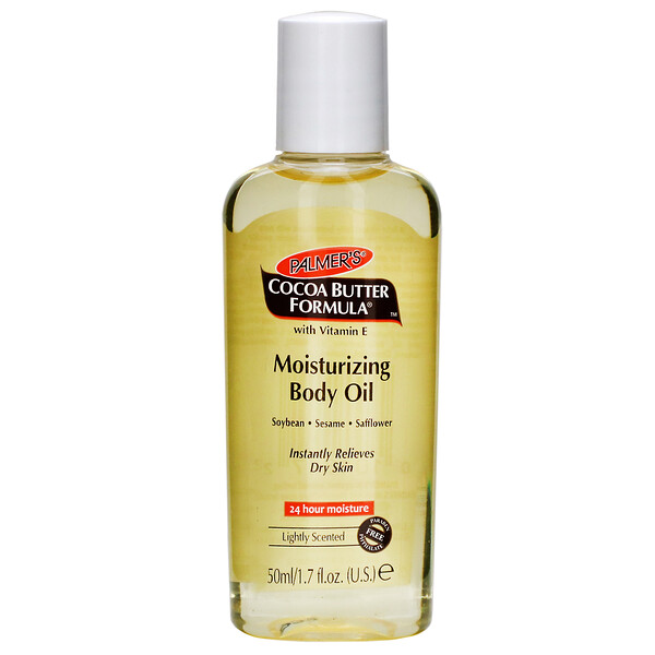 Cocoa Butter Formula, Moisturizing Body Oil With Vitamin E, 1.7 oz (50 ml)