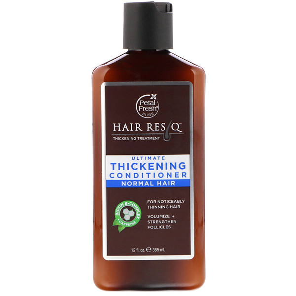 Petal Fresh, Pure, Hair ResQ, Ultimate Thickening Conditioner, Normal Hair, 12 fl oz (355 ml)