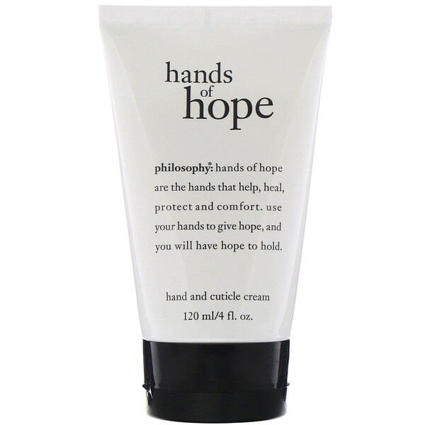 Hands of Hope, Hand & Cuticle Cream, 4 fl oz (120 ml)
