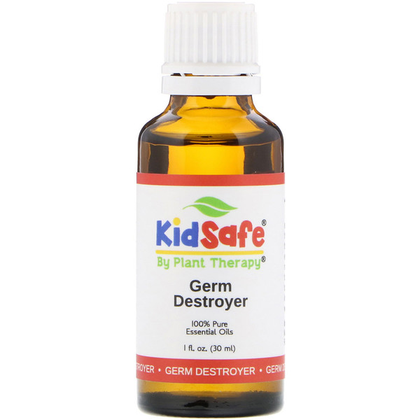 Plant Therapy, KidSafe, 全 Pure Essential Oil, Germ Destroyer, 1 fl oz (30 ml) (Discontinued Item)
