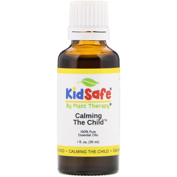 Plant Therapy, KidSafe, 全 Pure Essential Oil, Calming the Child, 1 fl oz (30 ml) (Discontinued Item)