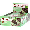 Quest Nutrition, Protein Bar, Mint Chocolate Chunk, 12 Bars, 2.12 oz (60 g) Each