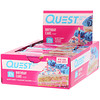 Quest Nutrition, Quest Protein Bar, Birthday Cake, 12 Pack, 2.12 oz (60 g) Each