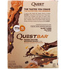 Quest Nutrition, Double Layered Protein Bar, Peanut Butter Brownie Smash, 12 Bars, 2.12 oz (60 g) Each