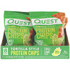 Quest Nutrition, Tortilla Style Protein Chips, Chili Lime, 8 Bags, 1.1 oz (32 g) Each