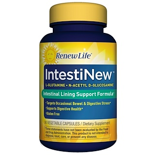 Renew Life, IntestiNew,90 粒素食胶囊