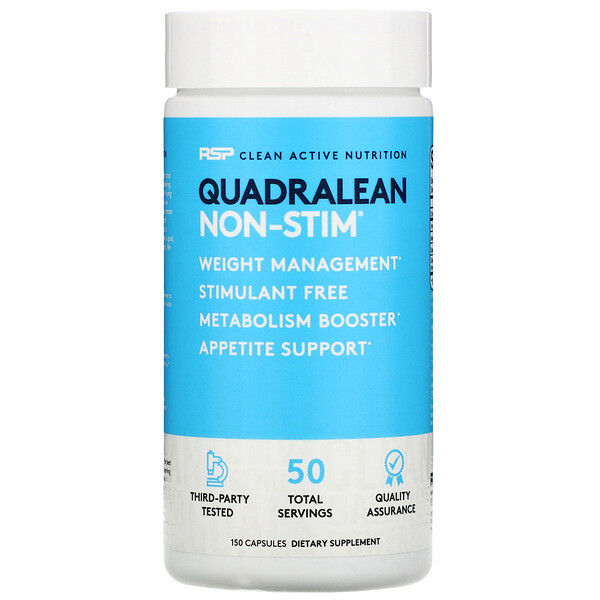 QuadraLean, Stimulant-Free Weight Management, 150 Capsules