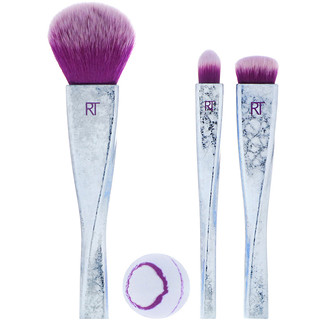 Real Techniques by Samantha Chapman, Limited Edition, Brush Crush Volume 2, Ruler of the Skies Set, 4 Pieces