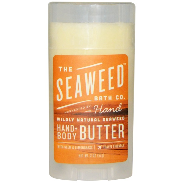 Seaweed Bath Co., Wildly Natural Seaweed Hand + Body Butter, 2 oz (57 g) (Discontinued Item)