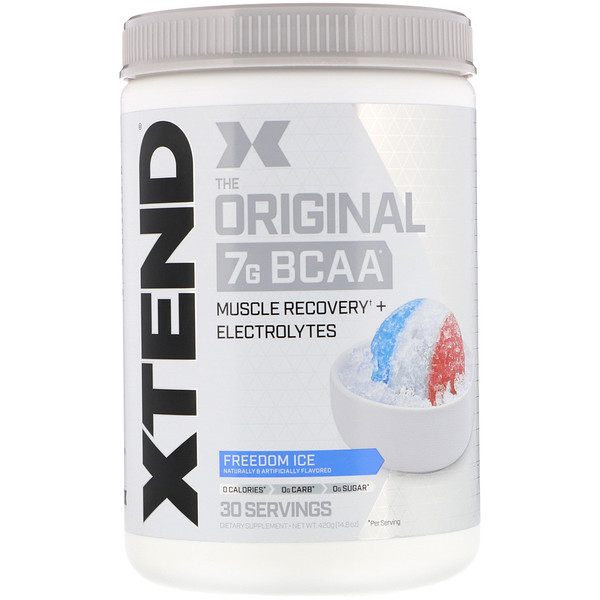 Scivation, Xtend, The Original 7G BCAA, Freedom Ice, 14.8 oz (420 g)