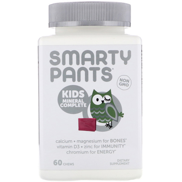 Kids Mineral Complete, Multimineral, Mixed Berry, 60 Chews