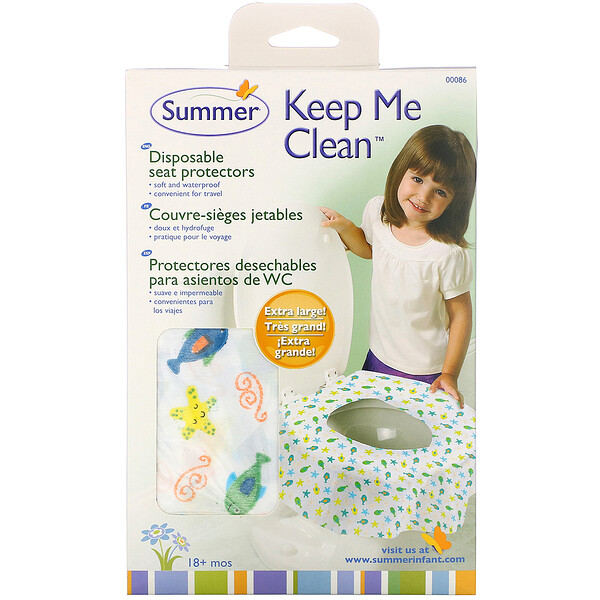 Summer Infant, Keep Me Clean Disposable Seat Protector,18 个月以上,20 包装