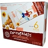 Somersaults, Sunflower Seed Snack, Cinnamon Crunch, 6 Packs, 1 oz (30 g) Each (Discontinued Item)