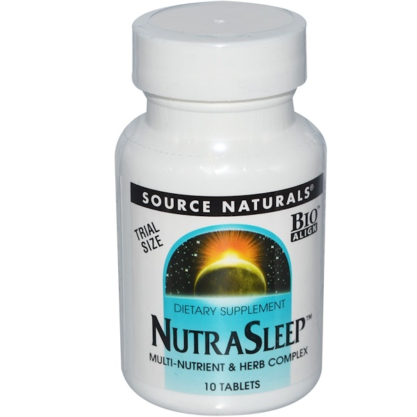 Source Naturals, 安神片,10片 (Discontinued Item)