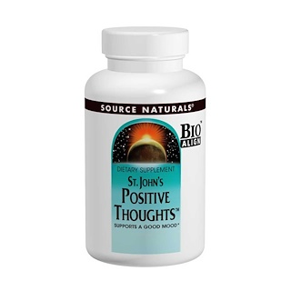 Source Naturals, St. John's Positive Thoughts, 45 片