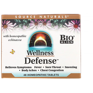 Source Naturals, Wellness治防风受凉片,48片