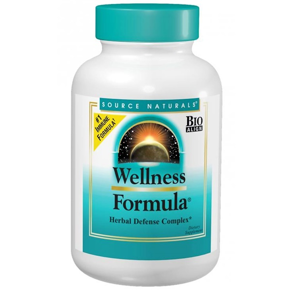Source Naturals, Wellness配方,草本防御复合片,60份,180片 (Discontinued Item)
