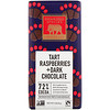 Endangered Species Chocolate, Tart Raspberries + Dark Chocolate Bar, 72% Cocoa, 3 oz (85 g)
