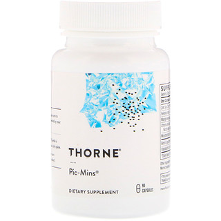 Thorne Research, Pic-Mins,90粒胶囊