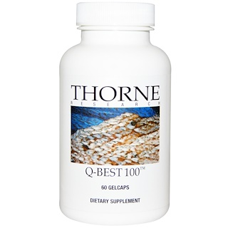 Thorne Research, Q-Best 100 软胶囊,60粒