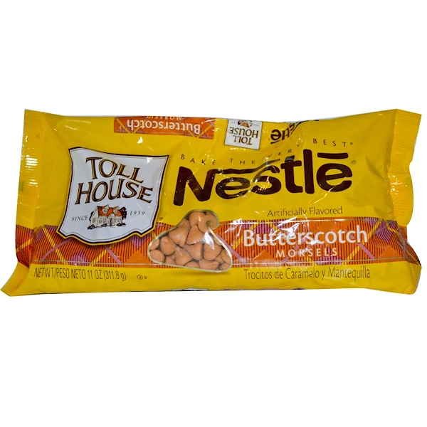Nestle Toll House, Butterscotch Morsels, 11 oz (311.8 g) (Discontinued Item)