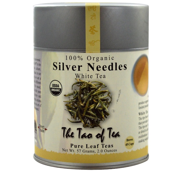 The Tao of Tea, 银针白茶,2盎司(57克) (Discontinued Item)