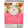 Traditional Medicinals, Herbal Tea, Organic Cran-Aid, Caffeine Free, 16 Wrapped Tea Bags, 1.13 oz (32 g) (Discontinued Item)