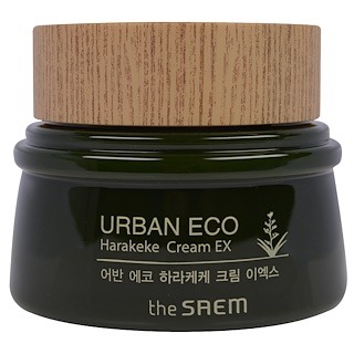 The Saem, Urban Eco,新西兰亚麻精华霜,2.02 fl oz (60 ml)