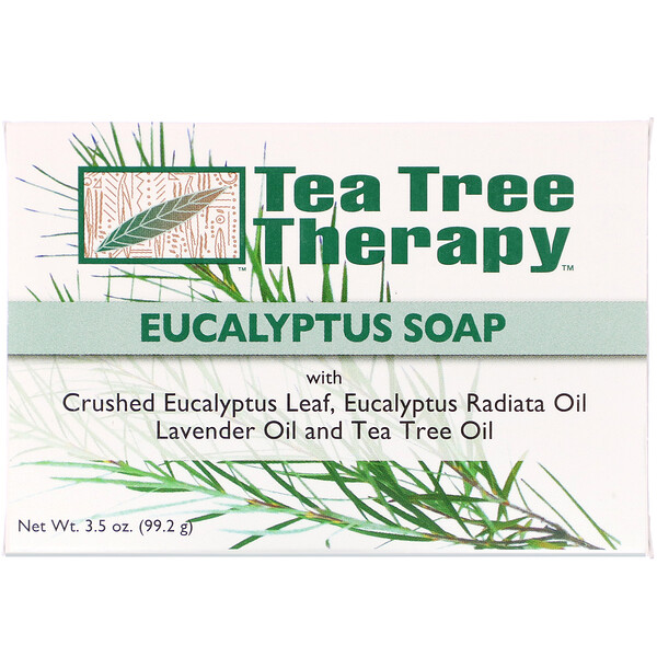 Tea Tree Therapy, Eucalyptus Soap, 3.5 oz (99.2 g)