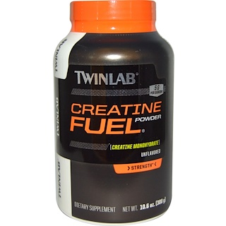 Twinlab, Creatine Fuel Powder, 5 g, 10.6 oz (300 g)