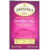 Twinings, 全 Pure Black Tea, Darjeeling , 20 Individual Tea Bags, 1.41 oz (40 g)