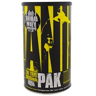 Universal Nutrition, Animal Pak,训练补充剂,44包