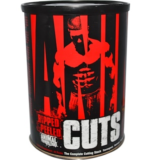 Universal Nutrition, Animal Cuts,训练补充剂,42袋