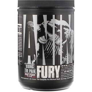 Universal Nutrition, Animal Fury,果汁喷趣酒,491.4克