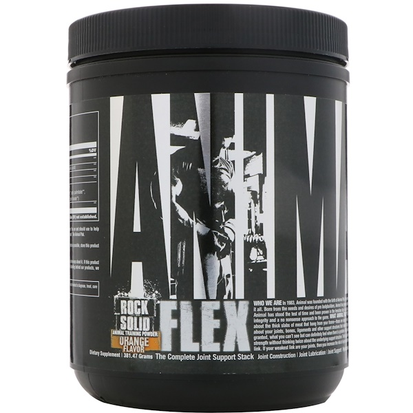 Universal Nutrition, Animal Flex粉,橙,381.47克