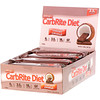 Universal Nutrition, Doctor's CarbRite Diet Bars 代餐棒,烤椰香,12 根,每根 2.0 盎司(56.7 克)