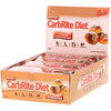 Universal Nutrition, Doctor's CarbRite Diet Bars 代餐棒,糖霜肉桂卷,12 根,每根 2.00 盎司(56.7 克)
