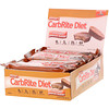 Universal Nutrition, Doctor's CarbRite Diet Bars 代餐棒,巧克力花生酱,12 根,每根 2.00 盎司(56.7 克)