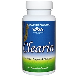Vaxa International, Clearin排毒素食胶囊,60粒