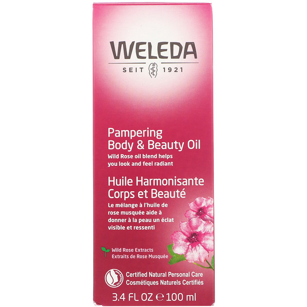 Pampering Body & Beauty Oil, 3.4 fl oz (100 ml)
