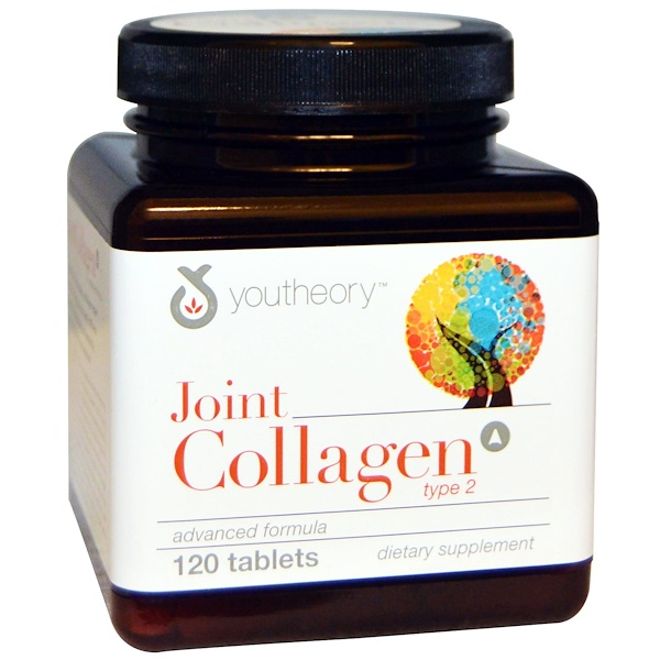 Youtheory, Joint Collagen Advanced, 120 Count