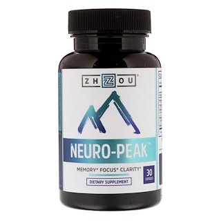 Zhou Nutrition, Neuro-Peak,30粒胶囊